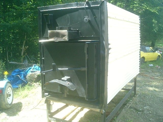 Taylor T750 Outdoor Wood Boiler Stove Furnace, will heat multiple