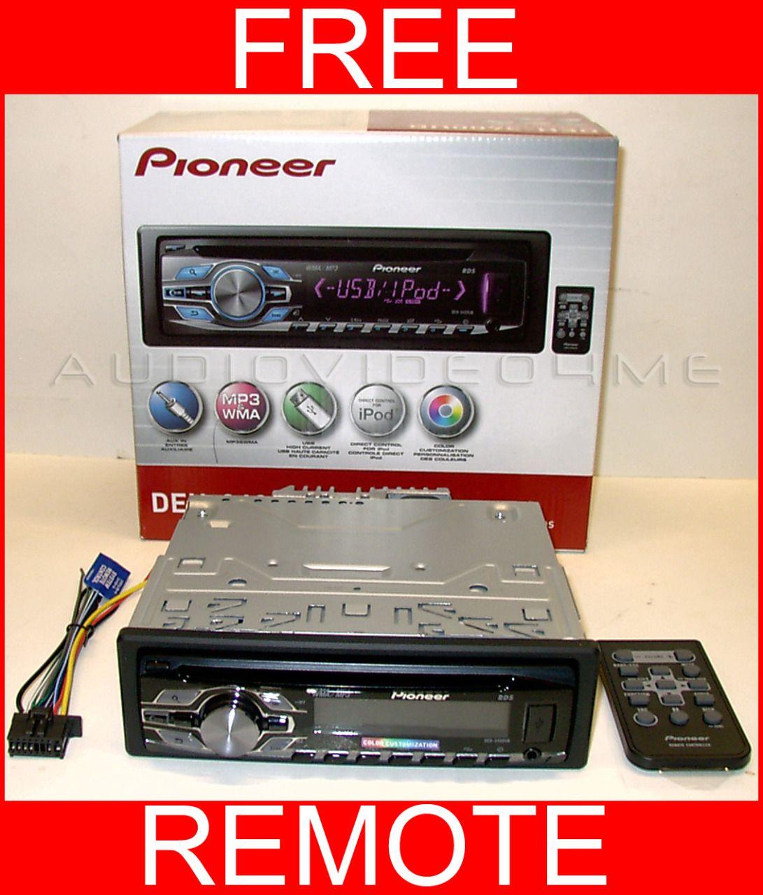pioneer deh 3400ub car stereo radio cd usb player car stereo