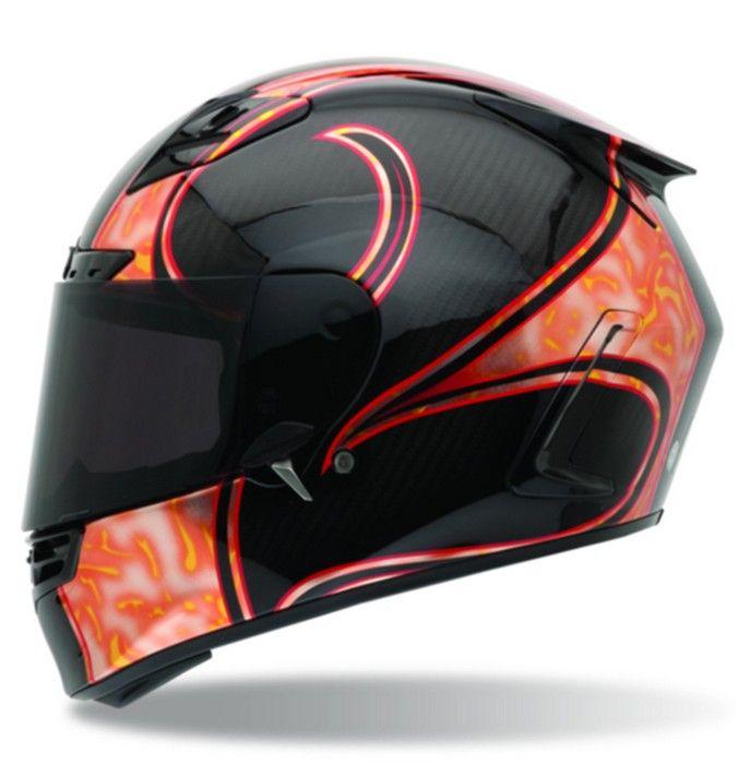 Bell Star Carbon Fiber RSD Speed Freak Full Face Motorcycle Helmet