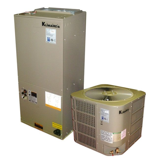 Ton 16 SEER Central Ducted Air Conditioner & Heat Pump System