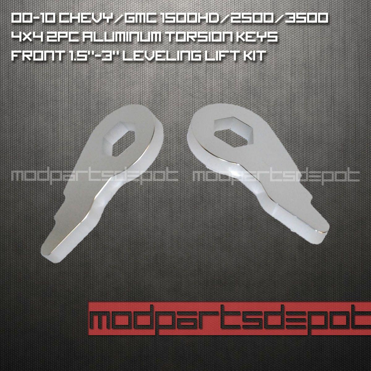 00 10 Chevy Silverado GMC Sierra 1500HD 2500 3500 FRONT Leveling Lift