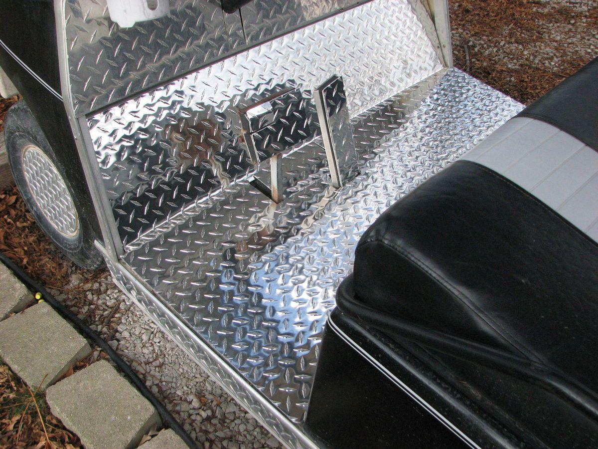 Club Car Golf Cart Diamond Plate Floor