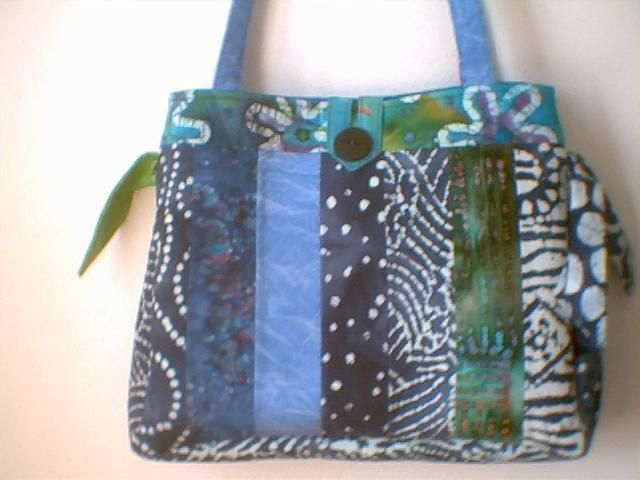 Quilted Tote Bags Quilted Fabric Handbags Patterns