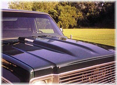 73 80 Chevrolet GMC Truck Steel Dual Cowl Induction Hood
