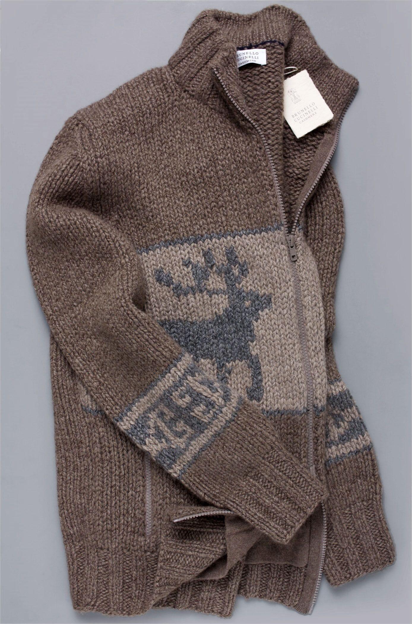 2450 Brunello Cucinelli Sweater 100 Cashmere Plush 12 Ply Full Zip M