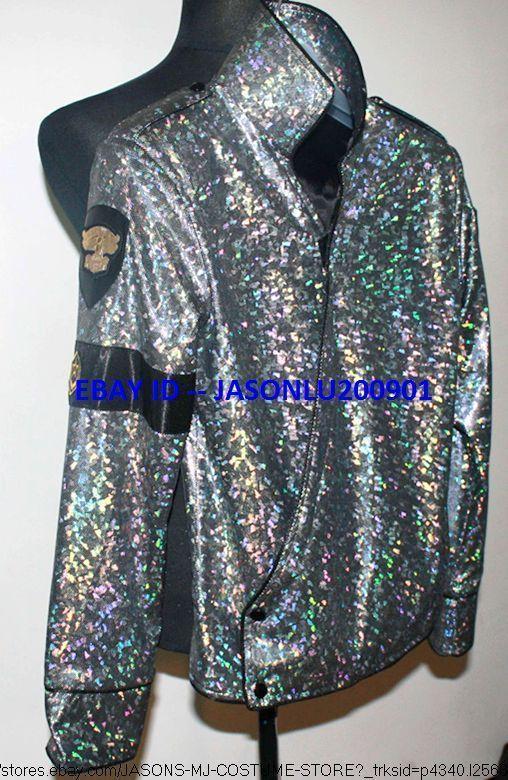 More Shinning Michael Jackson Dangerous Tour Jam Jacket