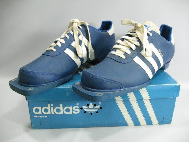 Trimm 3 Stripes Streifen Cross Country Ski Boots Shoes Mens 12 w Box