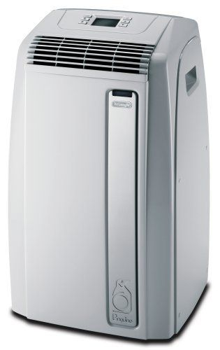 DeLonghi PAC A120E 12,000 BTU Eco Friendly Portable Air Conditioner