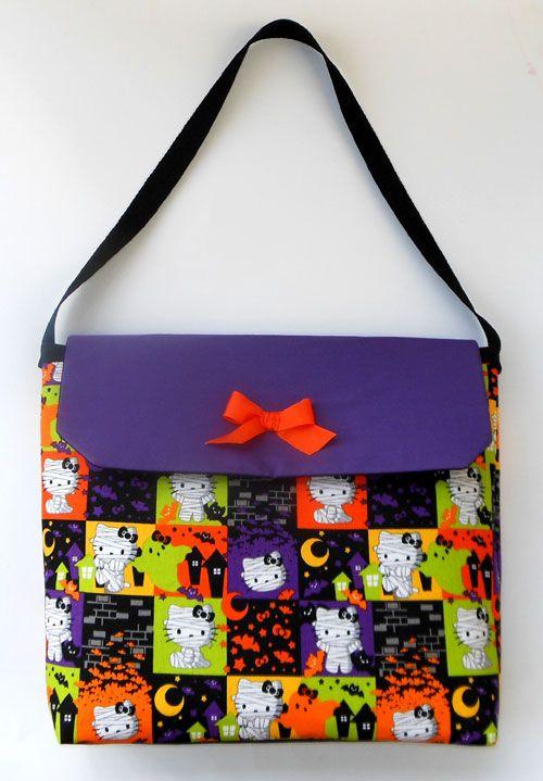 Halloween Hello Kitty Mummies Diaper Bag w 2 Bottle Pockets Sanrio