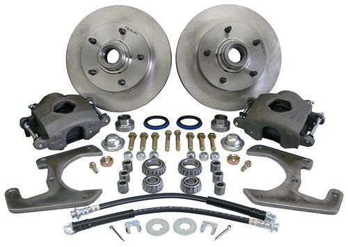 1937 48 FORD CAR FRONT DISC BRAKE CONVERSION KIT   STOCK SPINDLE