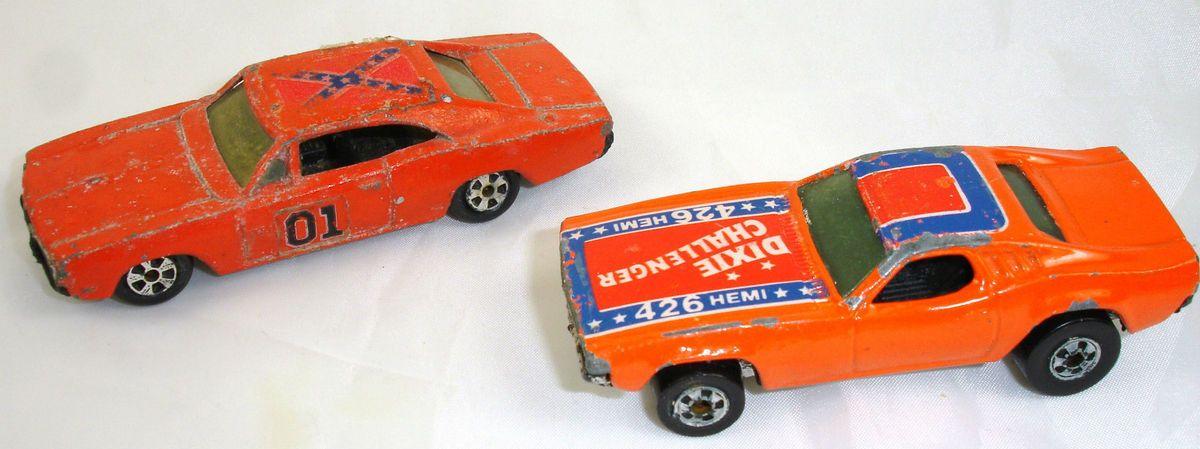 diecast 1981 Ertl General Lee 1982 Hotwheels Dixie Challenger 426 hemi