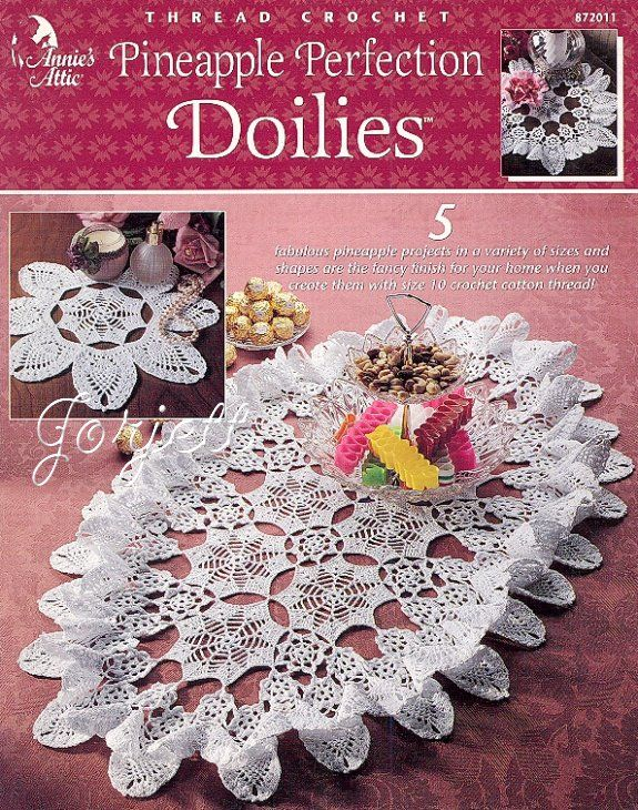 Pineapple Perfection Doilies Annies Crochet Patterns