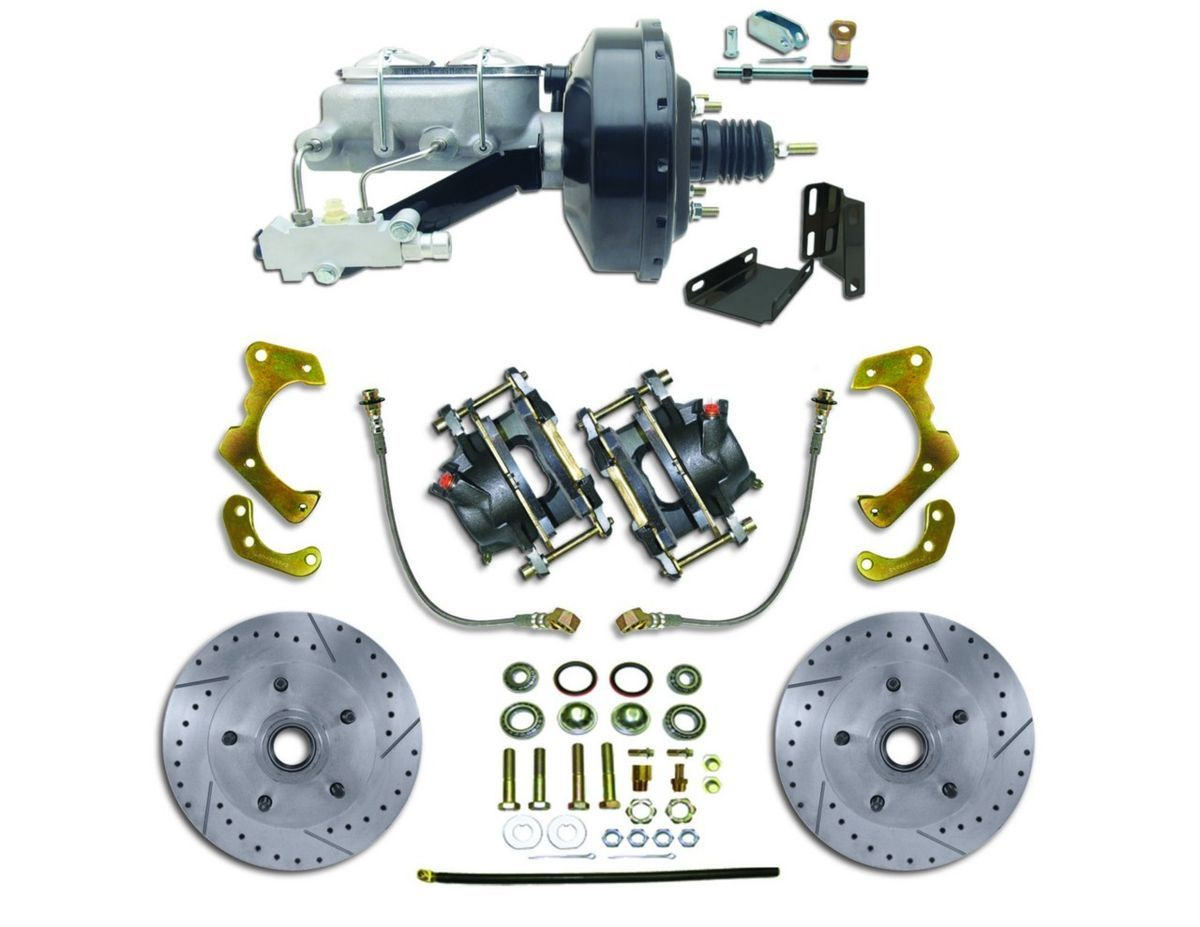 66 67 68 Chevy Impala High Performance Power Disc Brake Conversion Kit