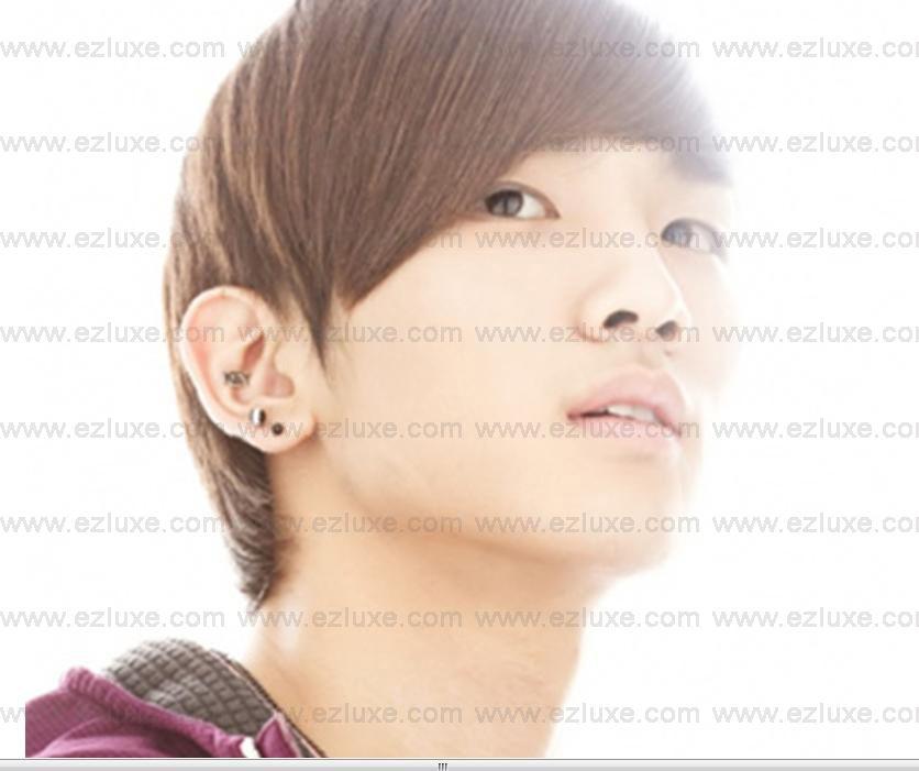 Korean Band DBSK Sinnger Drama SHINee Key Font Earring
