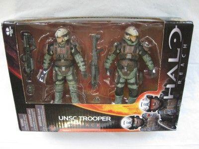 HALO REACH 6 Figure LOT Spec Ops, Spartan, Invasion, UNSC Trooper MIB