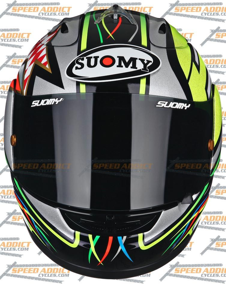 Suomy Excel Capirossi 2012 Full Face Motorcycle Helmet Medium