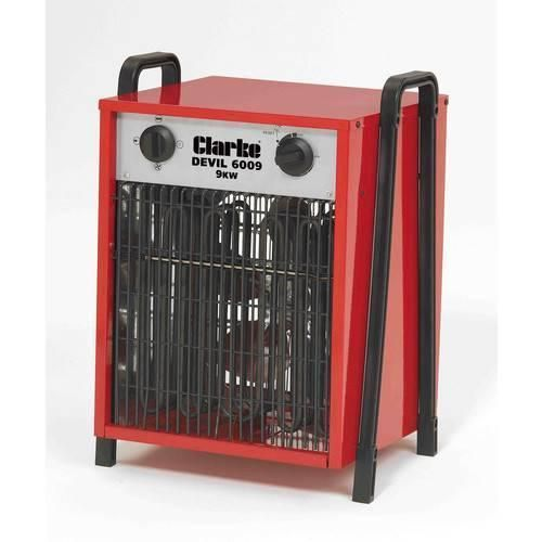 Clarke Devil 6009 3 Phase 9KW Industrial Electric Fan Heater