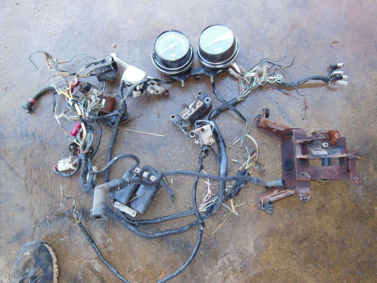 Honda Cb750 Cb 750 Wiring Harness Coil Horn Speedometer Bar Switch 1994 Prelude