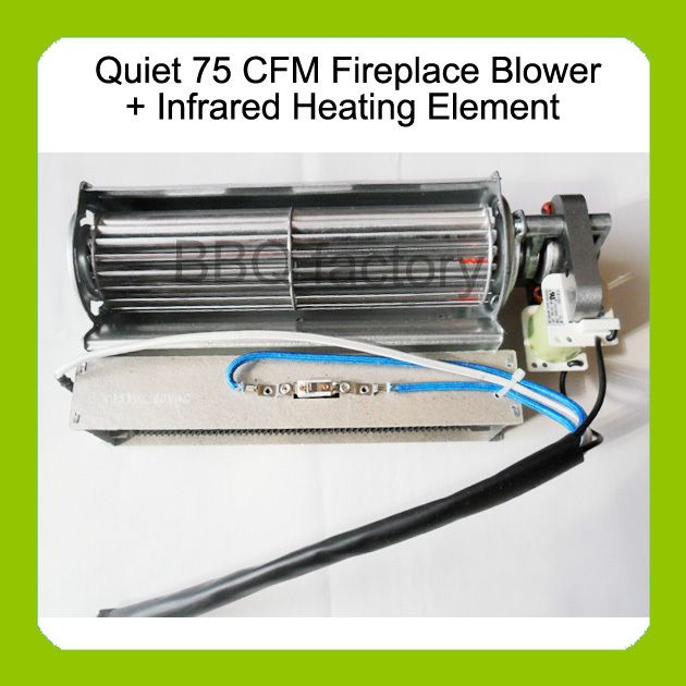Heat Surge Electric Fireplace Replacement Blower Fan Infrared Heating