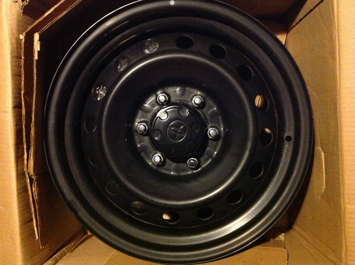 2011 FJ Cruiser Black Steel Wheels One