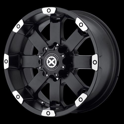 17 Inch Black Wheels Rims Ford Truck F150 Expedition 5 Lug 5x135 ATX