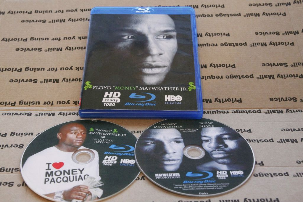 Floyd MAYWEATHER Jr Boxing Collection Blu Ray HD