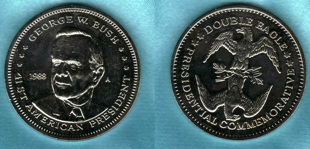 1988 George w Bush Commemorative Double Eagle