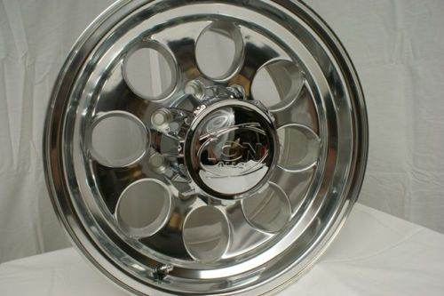 16 inch Polished Chevy GMC 2500 3500 HD Rims Wheels 8x