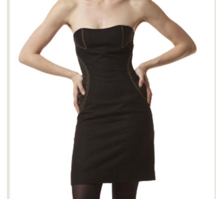 Hype Strapless Dress as Seen on Selena Gomez Sz 0