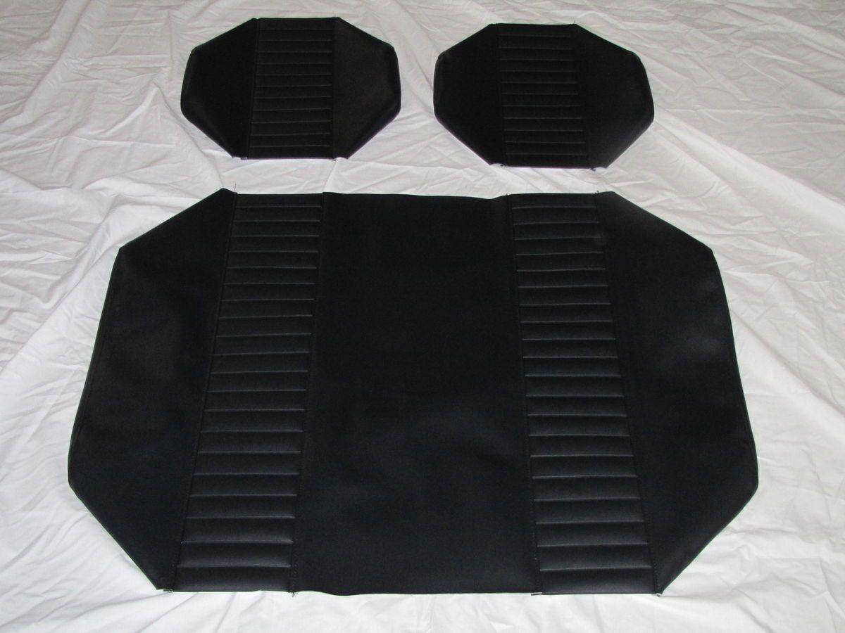 Yamaha Golf Cart Seat Covers Black Black