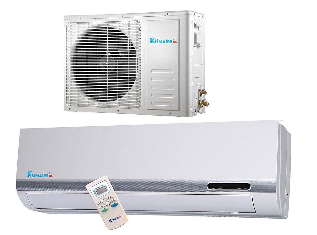 000 Btu Klimaire 13 SEER Ductless Mini split Heat Pump Air conditioner