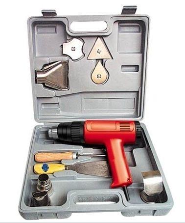 Electric Heat Gun Kit 1500W Strip Paint Shrink Wrap Hobby Tool w Case