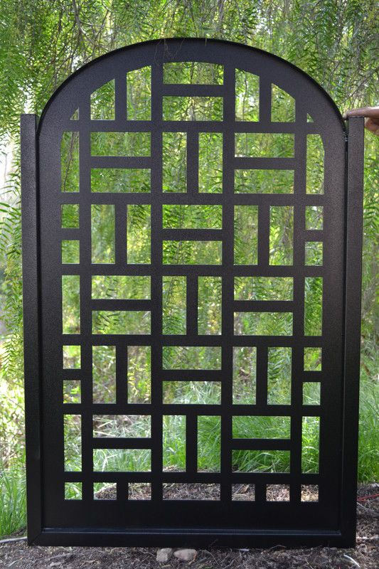 Metal Gate on Sale Contemporary Discount Custom Cut Art Modern Iron