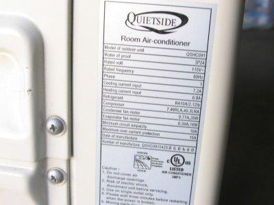 QSHC 091 9 000 BTU Mini Split Heat Pump A C System Outdoor Unit