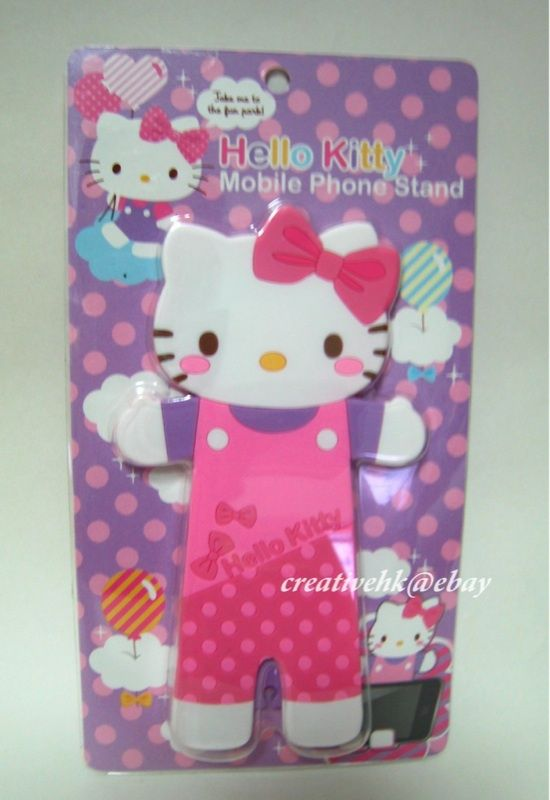 Sanriohello Kitty Cell Mobile Phone Holder Stand New