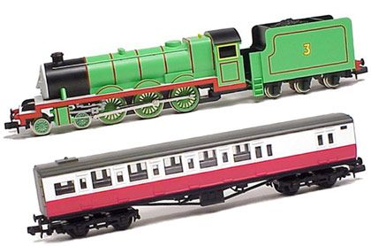 Thomas The Tank Engine Henry Set TOMIX 93805 N Scale