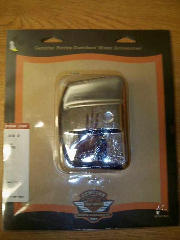 31705 04 Harley Davidson Dyna FXR Coil Cover Kit 04 Later Carbureted