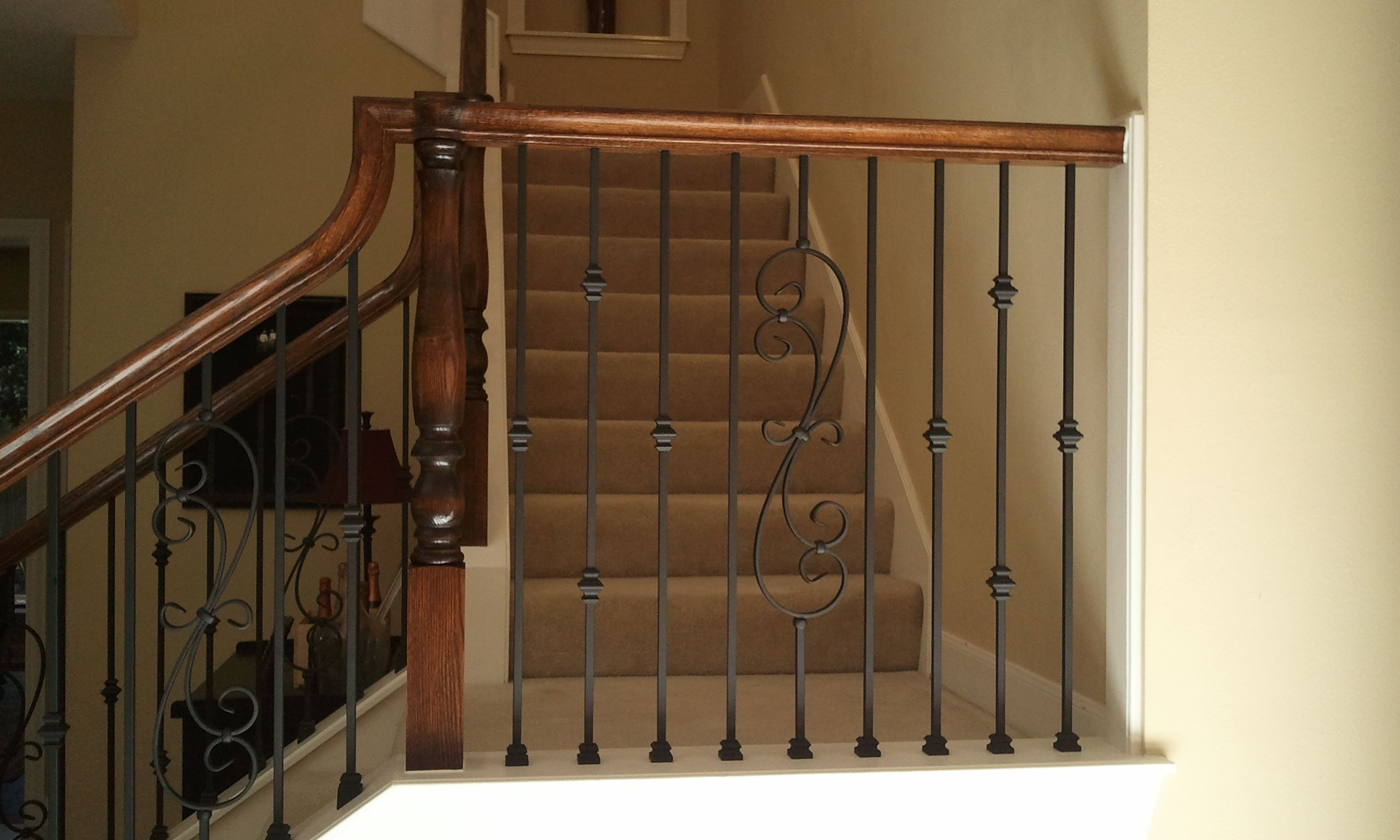 Stair Iron Balusters Wrought Iron Balusters