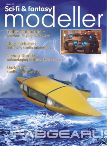 FANTASY MODELLER 13 Flying Sub Star Trek Dark Star Irwin Allen Batman