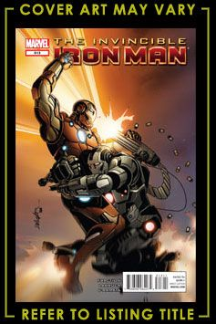 Invincible Iron Man 513 Marvel Comics