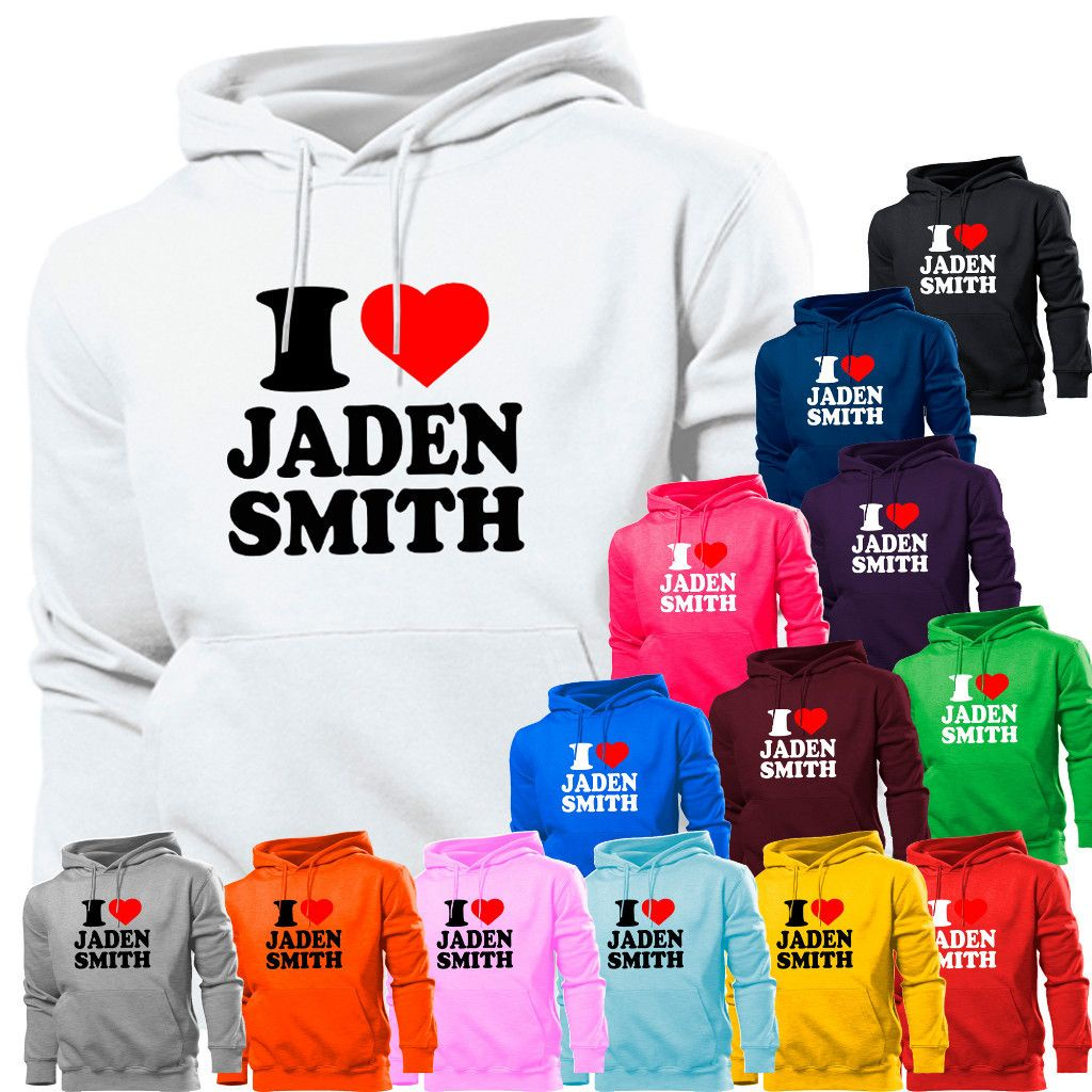 Love Heart Jaden Smith Karate Kid Will Hoodie Hoody Womens Boy Girl