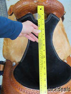 Jeff Smith Custom Made Reining Saddle Reiner Used Little Perfect 15 1