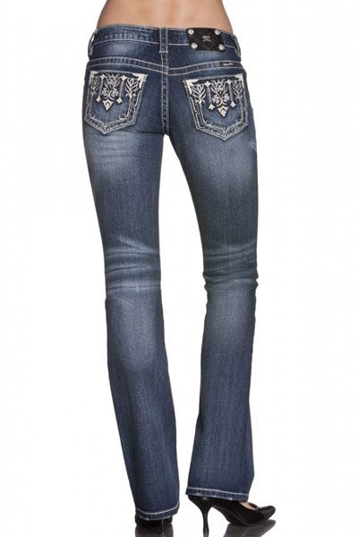 NWT Miss Me Size 27 Chanzelize Boot Cut Lowrise Stretch Jeans JP5500B
