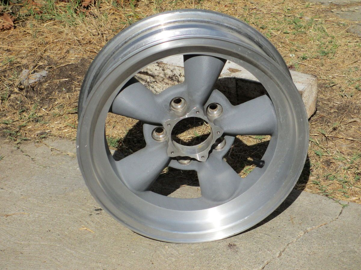 15 x4 5 AMERICAN RACING Torq Thrust Wheel Rim 5x4 5 Ford Mopar Mustang