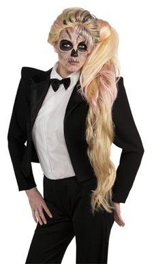 Lady Gaga Side Ponytail Wig