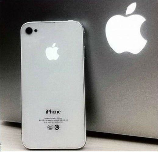Light Up LED light Mod Kit for iPhone4G White With Breath Lamp white