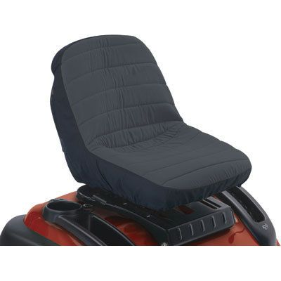 Classic Accessories Lawn Mower Seat Cover Fits Backrests up to 12inH