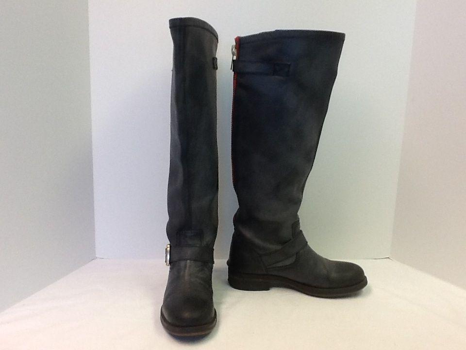 Steve Madden Lindley Black Womens Boots Size 7 EUC