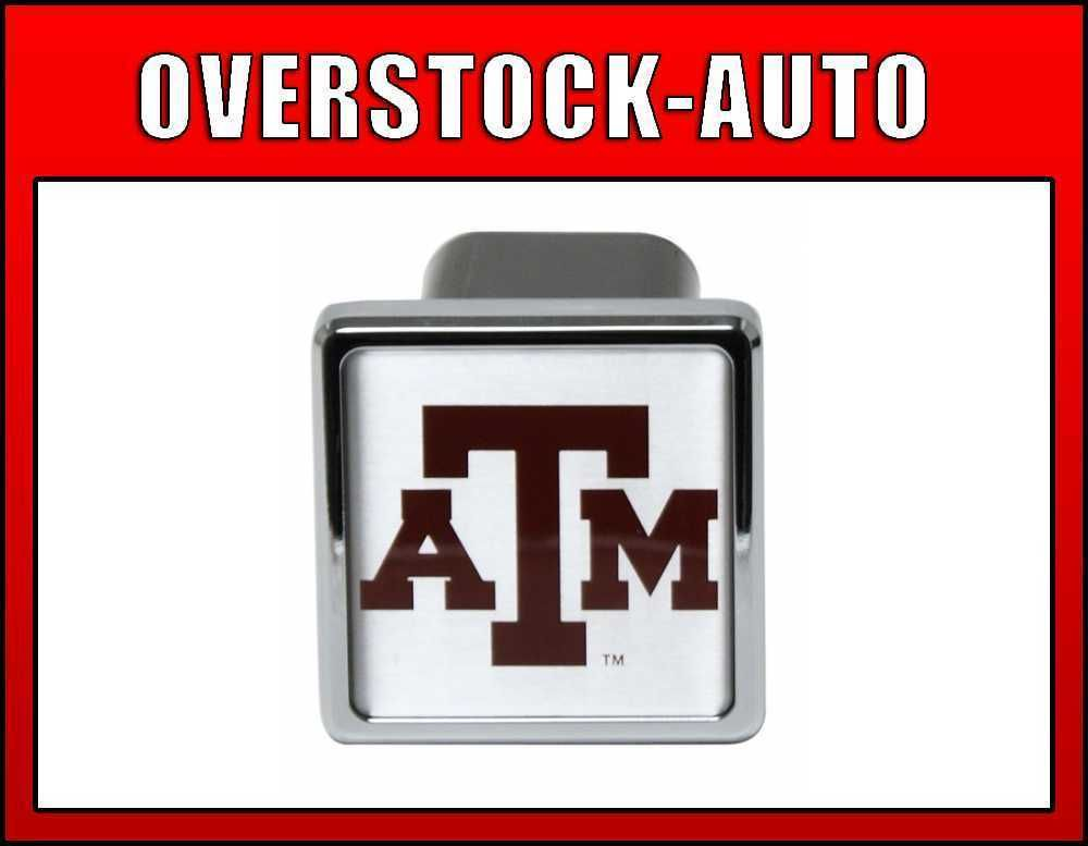 inch College Trailer Hitch Cover Texas A M Aggies NCAA Logo