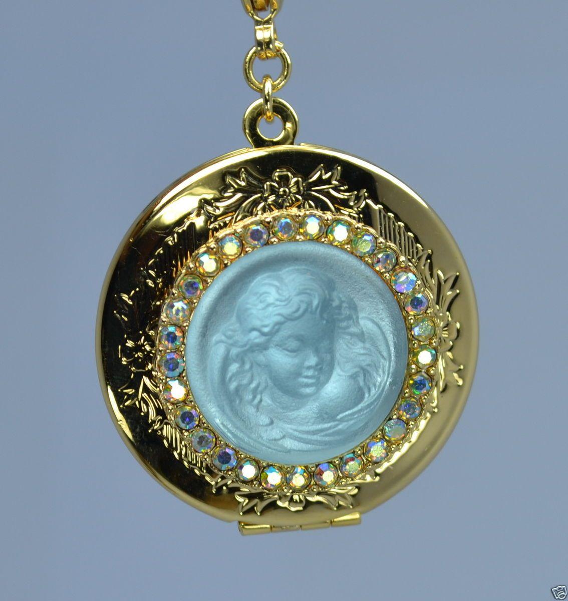 Kirks Folly Love Never Dies Dream Angel Locket Necklace